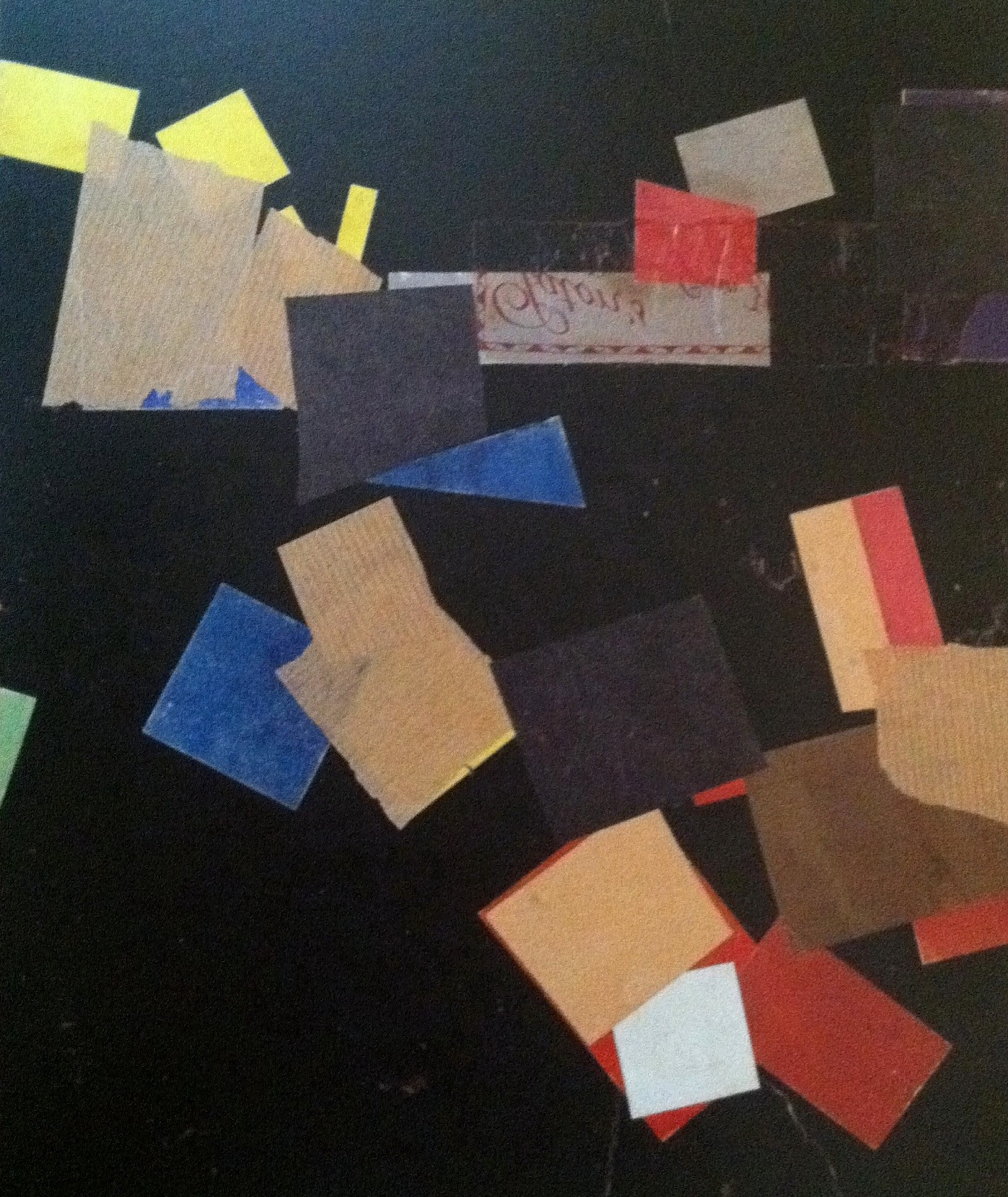 Kurt schwitters collage what glue