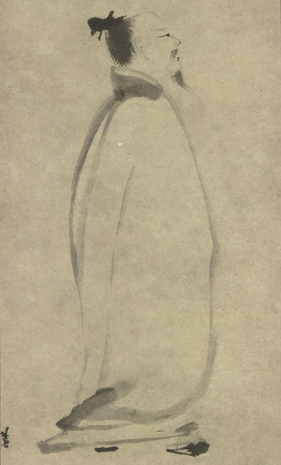 """Li Bai In Stroll,"" by Liang K'ai (1140–1210)"